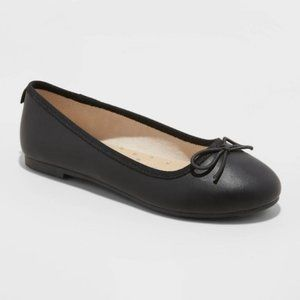 Girls' Stacy Ballet Flats - Cat & Jack  Black